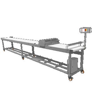 Cutting table - MCF